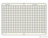 Leuchtturm1917 Master Classic Notebook - A4+, Graph - Black open