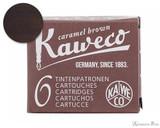 Kaweco Caramel Brown Ink Cartridges (6 Pack)