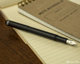 Kaweco Liliput Fountain Pen - Black - Posted on Notebook