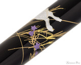 Platinum Classic Maki-e Kanazawa Leaf Fountain Pen - Moon and Rabbit - Pattern 3