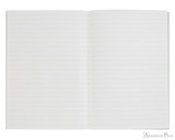 Life Pistachio Notebook - B6 (5 x 7), Lined Paper - Open