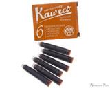 Kaweco Sunrise Orange Ink Cartridges with Box