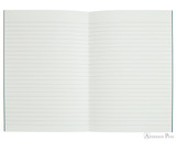 APICA CD11 Notebook - A5, Lined - Navy open