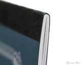 APICA CD11 Notebook - A5, Lined - Navy thread binding