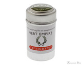 J. Herbin Vert Empire Ink Cartridges (6 Pack)