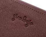 Girologio 12 Pen Case Portfolio - Brown Leather - Logo