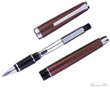 Pilot Metal Falcon Fountain Pen - Brown - Parted Out