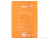 Rhodia No. 18 Staplebound Notepad - A4, Dot Grid - Orange back cover