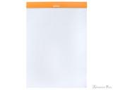 Rhodia No. 18 Staplebound Notepad - A4, Dot Grid - Orange open
