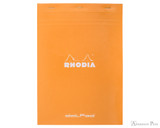 Rhodia No. 18 Staplebound Notepad - A4, Dot Grid - Orange