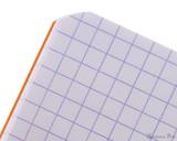 Rhodia Staplebound Notebook - 3 x 4.75, Graph - Orange graph
