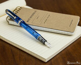 Pilot Custom 74 Fountain Pen - Blue - Posted with Notebook