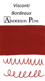 Visconti Bordeaux Ink Color Swab