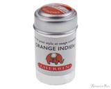 J. Herbin Orange Indien Ink Cartridges (6 Pack)