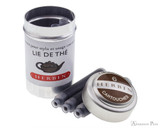 J. Herbin Lie de The Ink Cartridges (6 Pack) loose and container