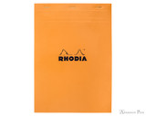 Rhodia No. 18 Staplebound Notepad - A5, Graph - Orange