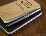 Pilot Metropolitan Fountain Pen - Retro Pop Gray - On Notebook