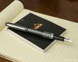 Pilot Metropolitan Fountain Pen - Retro Pop Gray - Posted on Notebook