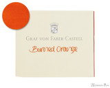 Graf von Faber-Castell Burned Orange Ink Cartridges (6 Pack)