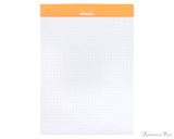 Rhodia No. 16 Staplebound Notepad - A5, Dot Grid - Orange open