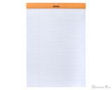 Rhodia No. 18 Staplebound Notepad - A4, Lined - Orange open