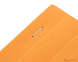 Rhodia No. 18 Staplebound Notepad - A4, Lined - Orange staple