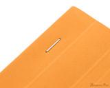 Rhodia No. 18 Staplebound Notepad - A4, Lined - Orange staple