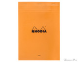 Rhodia No. 18 Staplebound Notepad - A4, Lined - Orange