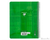 Clairefontaine Classic Wirebound Notebook - 6.5 x 8.25, Lined - Back