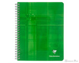 Clairefontaine Classic Wirebound Notebook - 6.5 x 8.25, Lined - Cover