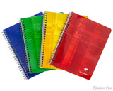 Clairefontaine Classic Wirebound Notebook - 6.5 x 8.25, Lined - Assorted