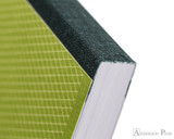 Clairefontaine 1951 Clothbound Notebook - 5.75 x 8.25, Lined - Green binding detail