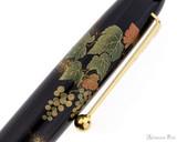 Namiki Yukari Maki-e Fountain Pen - Grapevine - Macro 2