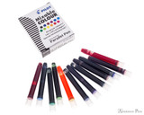 Pilot Parallel Mixable Colour Assorted Pack Ink Cartridges (12 Pack) - Cartridges with Box