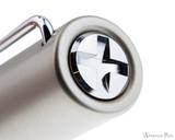 Lamy LX Fountain Pen - Palladium - Cap Jewel