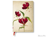 Paperblanks Mini Journal - Painted Botanicals Gloriosa Lily, Lined