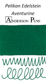 Pelikan Edelstein Aventurine Ink Color Swab
