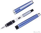 Pilot Metal Falcon Fountain Pen - Sapphire - Parted Out