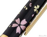 Platinum Classic Maki-e Kanazawa Leaf Fountain Pen - Cherry Blossom - Pattern 1