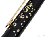 Platinum Classic Maki-e Kanazawa Leaf Fountain Pen - Cherry Blossom - Pattern 2