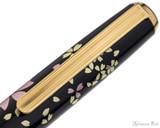 Platinum Classic Maki-e Kanazawa Leaf Fountain Pen - Cherry Blossom - Clip