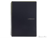 Maruman Mnemosyne N194A Notebook - B5, Lined - Black