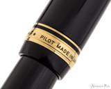 Pilot Custom Urushi Fountain Pen - Black - Cap Band 2