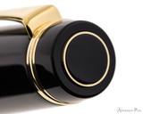 Pilot Custom Urushi Fountain Pen - Black - Cap Jewel