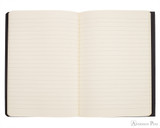 Clairefontaine Flying Spirit Notebook - A5, Lined - Black open