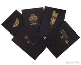 Clairefontaine Flying Spirit Notebook - A5, Lined - Black all back cover images