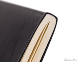 Clairefontaine Flying Spirit Notebook - A5, Lined - Black binding detail