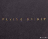 Clairefontaine Flying Spirit Notebook - A5, Lined - Black logo detail