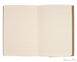 Clairefontaine Flying Spirit Notebook - A5, Lined - Tan open