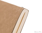 Clairefontaine Flying Spirit Notebook - A5, Lined - Tan binding